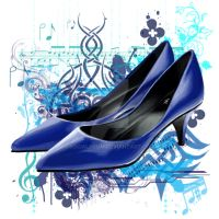 Blue Shoes by Socialdbum