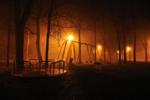 Ghost of Playgrounds Past 2 by Bvilleweatherman
