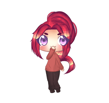 Siana Chibi [Contest Entry][Mochaeii] by Jupiterssdaughter