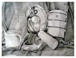 Still Life 18 Old Works by SILENTJUSTICE