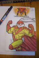 Captain Carrot Sketch Cover by PonyGoddess