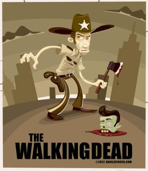 The Walking Dead by DaniloFiocco