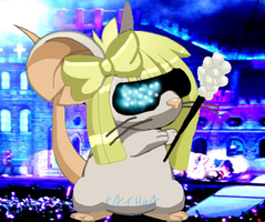 Gaga raton Transformice by Sindy-la-gata