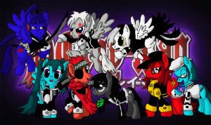 If MLP did D.Gray-Man by LadyNanaki