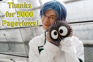 5000 Pageviews.... THANKS by asuKai
