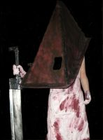 Silent Hill 2 Pyramid Head V.3 costume by Rising-Darkness-Cos