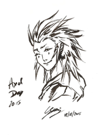 Axel Day 2015 by x-Lilou-chan-x