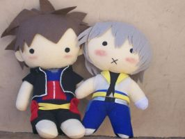 Cuddly Wobbly Riku Plushie by CuteGio