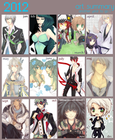 art summary 2012 by akiicchi