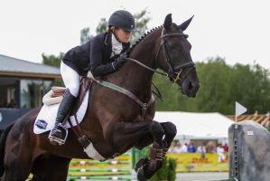 3DE Show Jumping Phase Stock 37 by LuDa-Stock