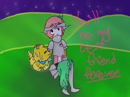 Best friends by Ask-Cherry-Poodle