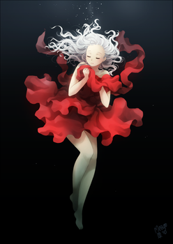 Deep red by meago