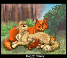 Firestar's family by Ali-zarina