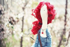 Red Haired Girl #1 by dual-personality