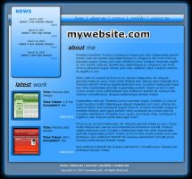 Personal Site Layout by moDesignz