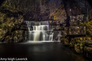 Waterfall near summerhill force by Princess-Amy
