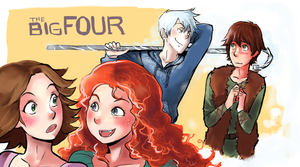 Big Four by incaseyouart