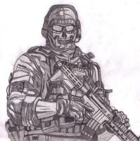 MW2 Ghost by Juggalo4life916