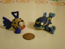 Feebas Whiscash and Barboach