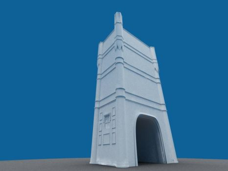 C4Des Contest- Towers wip1 by elp1210