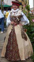 LadyLucrezia'a tapestry gown by HistoricCostume