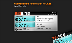 Speed Test Fail by Aldaeld