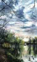 Riverside Park by AnnPars