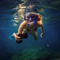 Underwater photographer. by fly10
