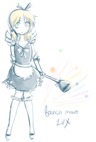 french maid lux by Ririki