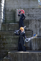 VIII: Axel and XIII: Roxas by ShinraiFaith
