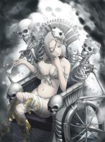 Death Breath of Queen by stealthmaria