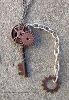 Steampunk Key by Drayok