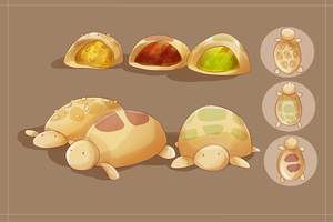 MAGE: Turtle Mooncake by Zxacata