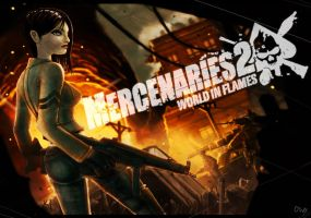 Mercenaries 2 load screen by ElBrazo