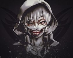 White-haired Kaneki desktop wallpaper 1280x1024 by gameriuxlt