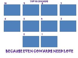 Top 10 Cowards Meme Template by CanzetYote