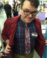 Baltimore Comic Con Day 2: Favorite Tie by kevinbolk