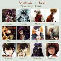 Art Summary 2014 by pianorei