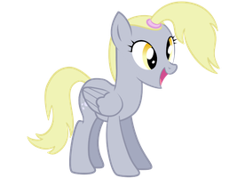 Derpy with a Ponytail by Srsishere