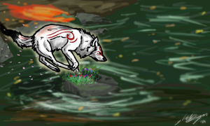 Okami Quickie by NstealthL