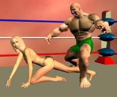 mixed wrestling 7 by cattle6