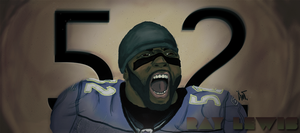 Ray Lewis by EgoCant