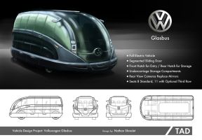 Volkswagen Glasbus Vehicle Concept Design by gntlemanartist
