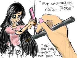 Stop painting my nails by pehlx94