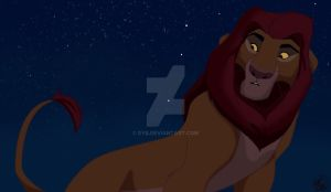 Young Mufasa by dyb