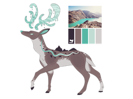 (CLOSED) Aesthetic Deer by MonsterMoxie