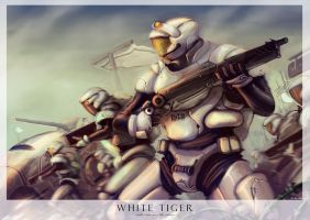 WHITE TIGER by crutz