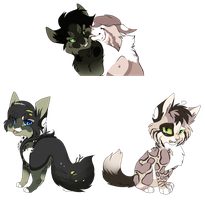 BlackxZen Hypo Kittens [Closed] by WhiteAdoptables500