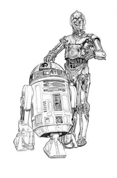 Artoo and Threepio by jasonpal