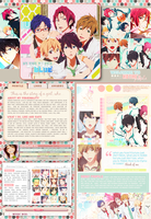 Free! layout for myanimelist by notmi